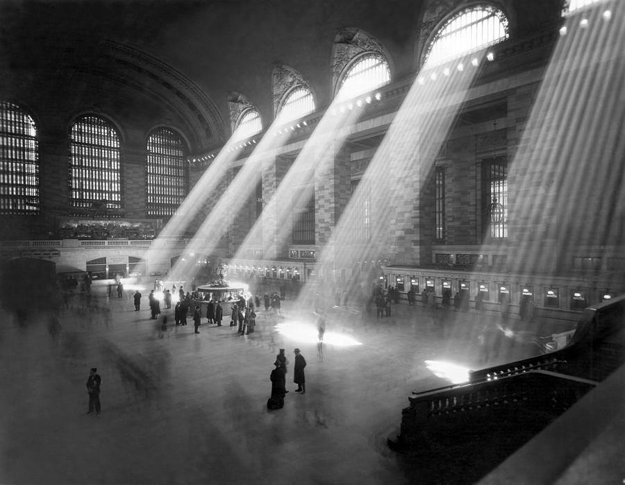 New York's Grand Central Terminal, 1940.